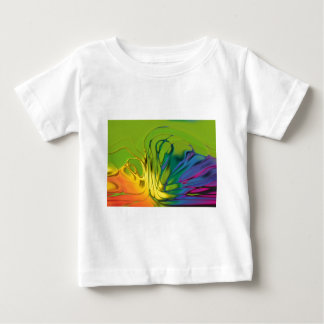 Cool Abstract Tie Dye T Shirt