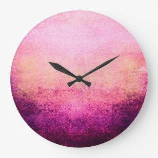 Cool Abstract Wall Clock Retro Grunge Vintage