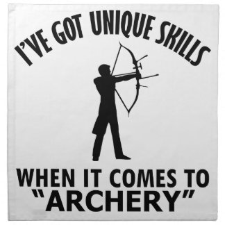 cool Archery DESIGNS Napkin
