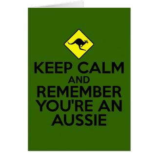 Cool Australia Card