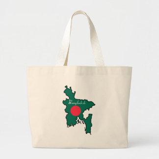 Cool Bangladesh Large Tote Bag