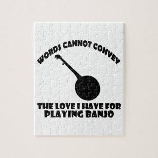 cool banjo designs jigsaw puzzle