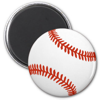 Cool Baseball for Tema Jerseys 6 Cm Round Magnet