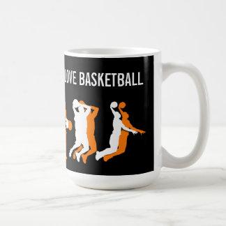 Cool Basketball Theme Basic White Mug