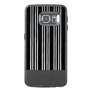 Cool Black and White Striped Pattern
