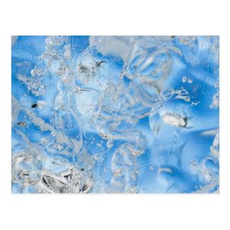 Cool Blue Iceberg Postcard