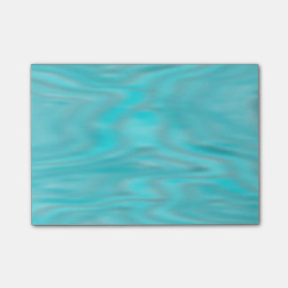 Cool Blue Marble Post It Notes