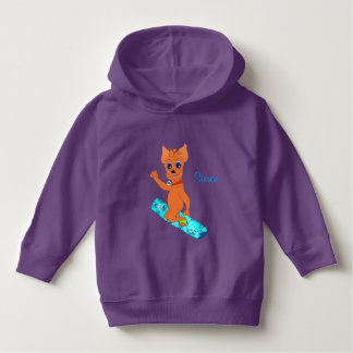 Cool Boy's Clothes - Happy Snowboarding Hoodie