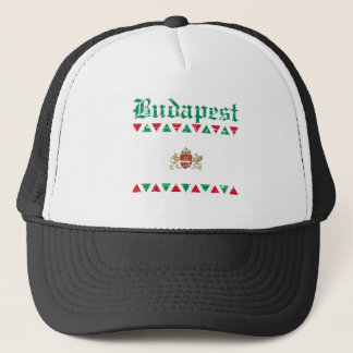 Cool budapest city flag designs trucker hat