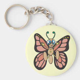 Cool Butterfly Key Ring