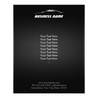 Cool Car Outline Automotive Business 11.5 Cm X 14 Cm Flyer