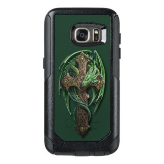 Cool Celtic Tribal Cross Dragon Tattoo Art Design OtterBox Samsung Galaxy S7 Case