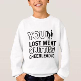 Cool Cheerleading designs Sweatshirt