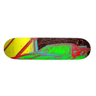 Cool classic skateboard