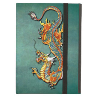 Cool Colorful Vintage Fantasy Fire Dragon Tattoo Case For iPad Air