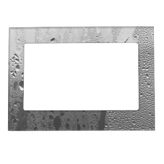 Cool Condensation on Stainless Steel Magnetic Frame