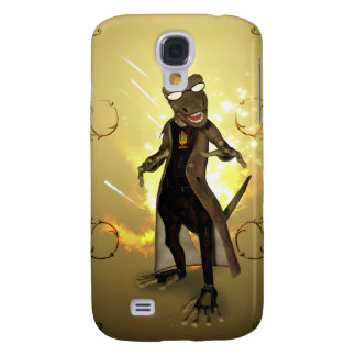 Cool, cute gecko galaxy s4 case
