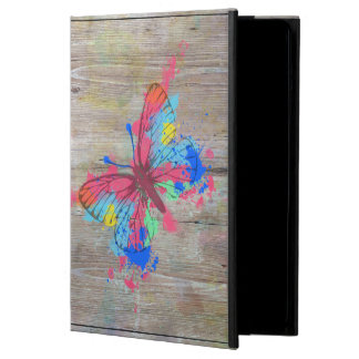 Cool cute vibrant watercolours vintage butterfly case for iPad air