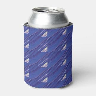 Cool Diagonal Blue Beer Sleeve / Cooler / Cozy