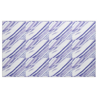 Cool Diagonal White and Purple Fabric