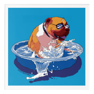 Cool Dog Days of Summer Acrylic Wall Art