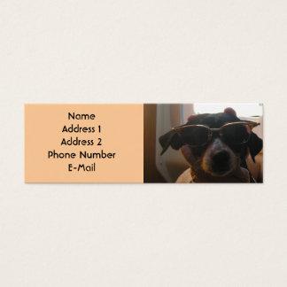 COOL DOG PROFILE CARD
