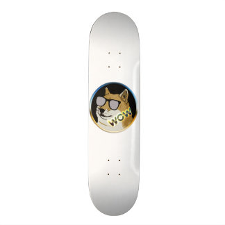 Cool Doge : Dogecoin is WOW! Skate Boards