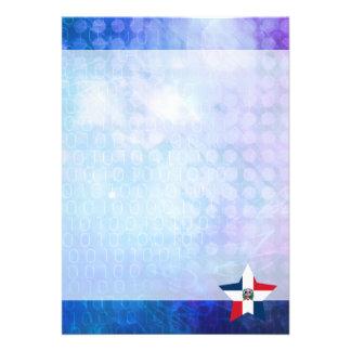 Cool Dominican Republic Flag Star 13 Cm X 18 Cm Invitation Card