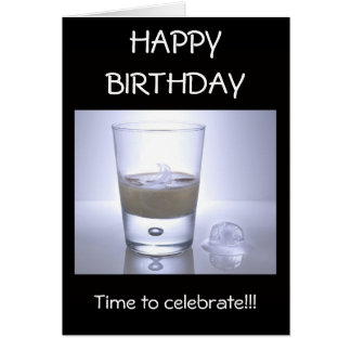 Cool Drink, Time to celebrate!! Card