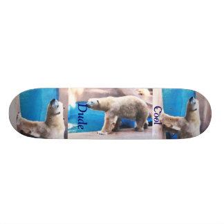 Cool Dude Polar Bear Boar Custom Skate Board
