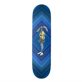Cool Easter Rabbit with shades 21.6 Cm Old School Skateboard Deck