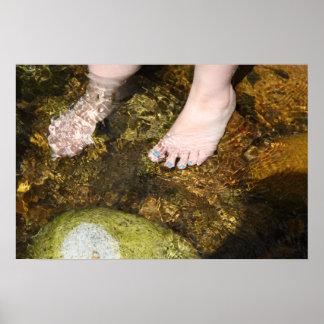 Cool Feet Poster