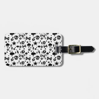 Cool Funky Pattern Design Luggage Tag