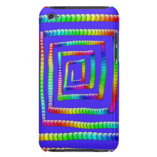 Cool Funky Rainbow Maze Rolling Circle Spheres Des iPod Touch Case-Mate Case