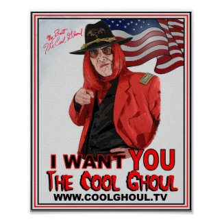 Cool Ghoul 8x10 Photo Poster