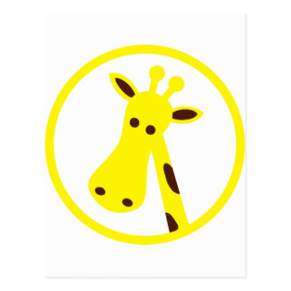 Cool Giraffe Postcard