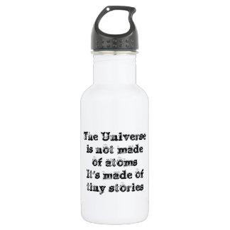 Cool great simple wisdom philosophy tao sentence 532 ml water bottle