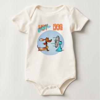 Cool Hotdog Baby Bodysuit