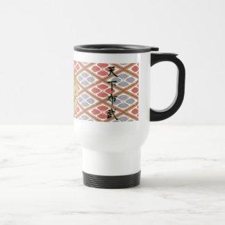 COOL JAPAN SAMURAI KAMON KANJI TENKAFUBU! COFFEE MUGS