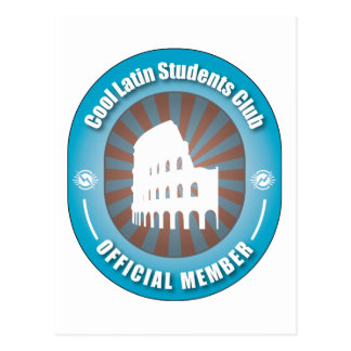 Cool Latin Students Club Post Cards