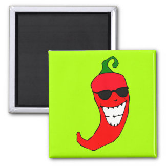 Cool Mister Red Hot Pepper Magnet