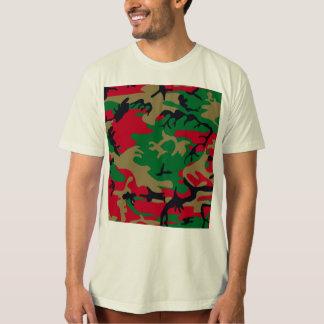 Cool Modern Military Camouflage Design Tshirt