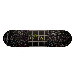 Cool monster skateboard design