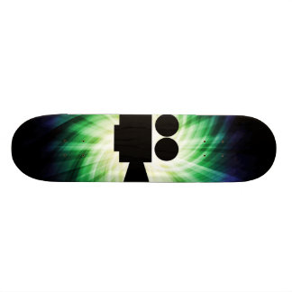 Cool Movie Camera; Video Film 20 Cm Skateboard Deck