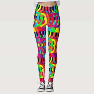 Cool Neon Colors Leggings