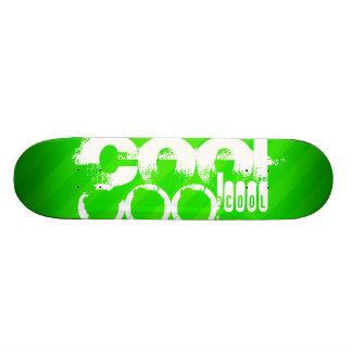 Cool; Neon Green Stripes 20.6 Cm Skateboard Deck