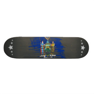 Cool New Yorker flag design Skate Boards