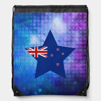 Cool New Zealand Flag Star Backpacks