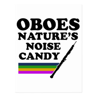 Cool Oboe musical instrument designs Postcard