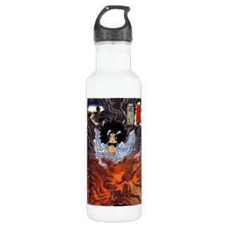 Cool oriental japanese Kuniyoshi bushi spirit art 710 Ml Water Bottle